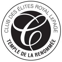 Club des élites Royal Lepage - Temple de la renommée